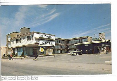 The Diplomat Motel-Sault Ste. Marie,Ontario,Canada - Cakcollectibles - 1