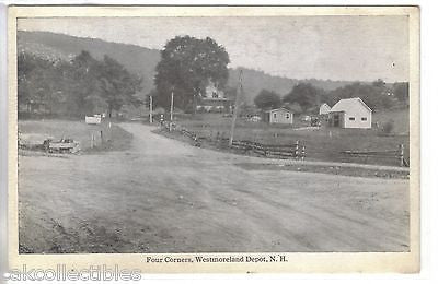 Four Corners-Westmoreland Depot,New Hampshire - Cakcollectibles - 1
