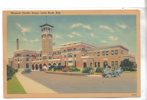 Missouri Pacific Depot-Little Rock,Arkansas - Cakcollectibles - 1