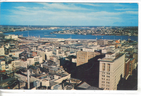 "Aerial View of New Orleans -The ""Crescent City"" - Cakcollectibles - 1"