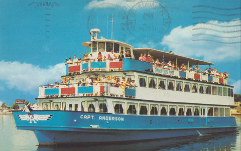 """Capt. Anderson"",Sight-Seeing and Dinner Cruise-Florida - Cakcollectibles - 1"