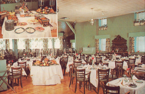 "Dining Room,Allenberry,""On The Yellow Breeches"" at Boiling Springs,Pennsylvania - Cakcollectibles - 1"