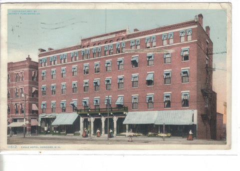 Eagle Hotel-Concord,New Hampshire - Cakcollectibles - 1