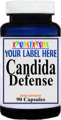Private Label Candida Defense 90caps Private Label 12,100,500 Bottle Price