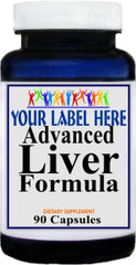 Private Label Advanced Liver Formula 90caps or 180caps Private Label 12,100,500 Bottle Price