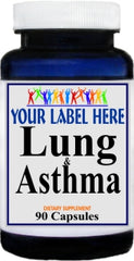 Private Label Lung and Asthma 90caps Private Label 12,100,500 Bottle Price