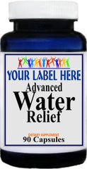 Private Label Advanced Water Relief 90caps Private Label 12,100,500 Bottle Price