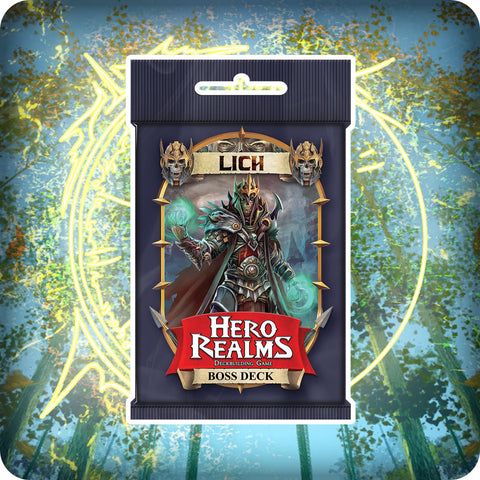 Hero Realms Lich Boss Deck