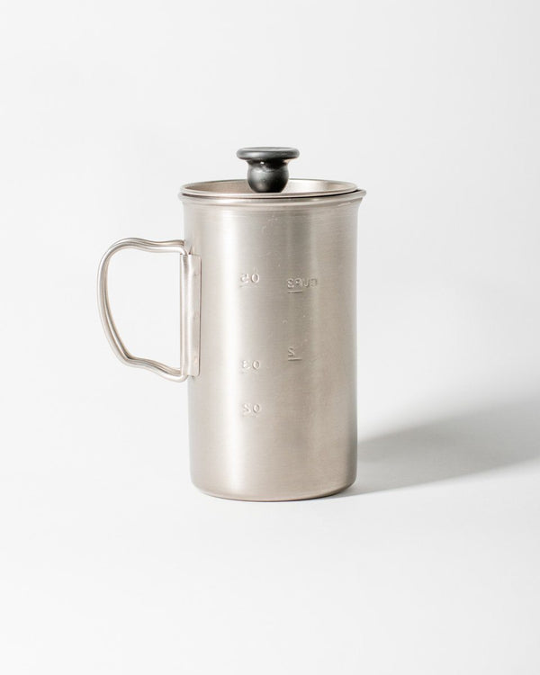 ecologyst Snow Peak French Press Titanium Coffee Maker - All - Hero