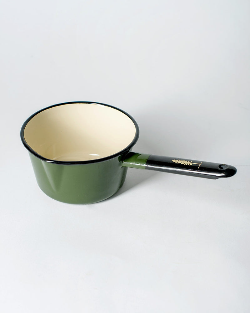 Sitka - ecologyst The Camp Utility Pot Enamel Steel - Sitka Green - Hero