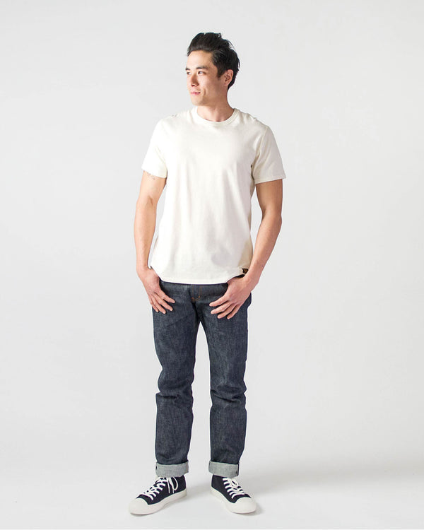 Sitka - ecologyst Men's Organic Cotton Japanese Raw Denim Selvedge The Straight Fit Denim - Indigo - Hero