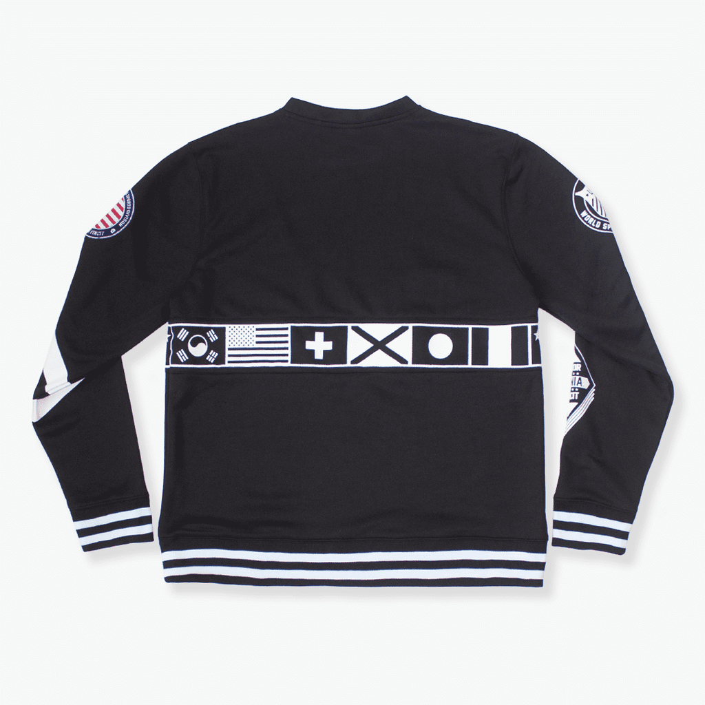 elbowgrease OLYMPIA // Fleece Crew Neck