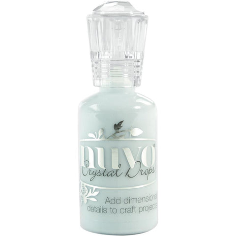 Nuvo Crystal Drops - DUCK EGG BLUE - By Tonic Studio - Hallmark Scrapbook