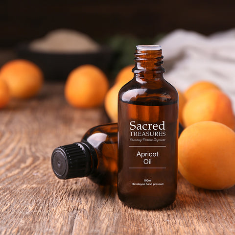 Sacred Treasures Pure Stone Ground Apricot Oil (100ml)