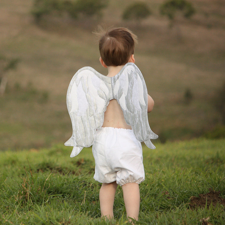 angel wings sewing pattern by Twig + Tale