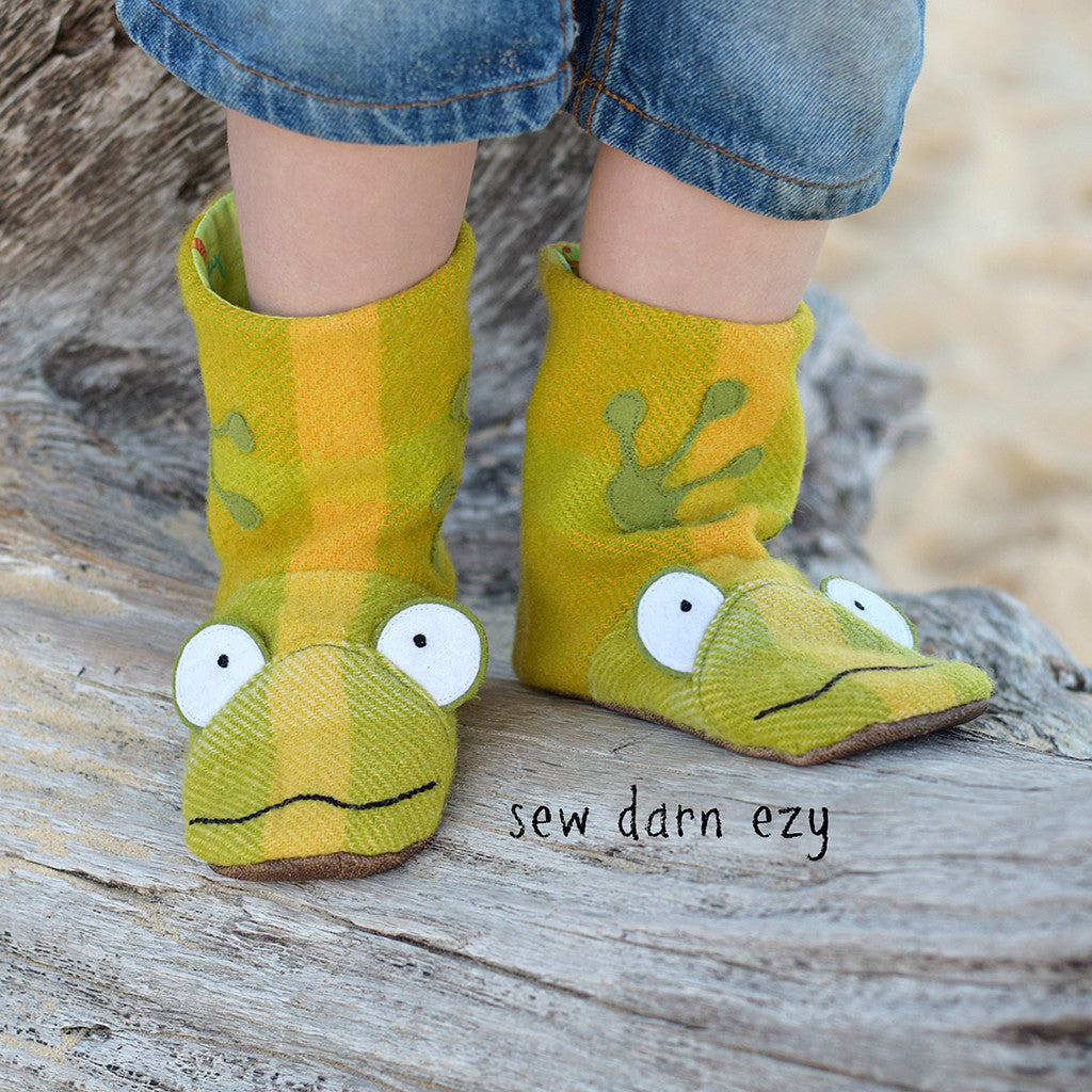 Wild Things Boots for Big Kids - Twig + Tale  - Digital PDF Download - 9