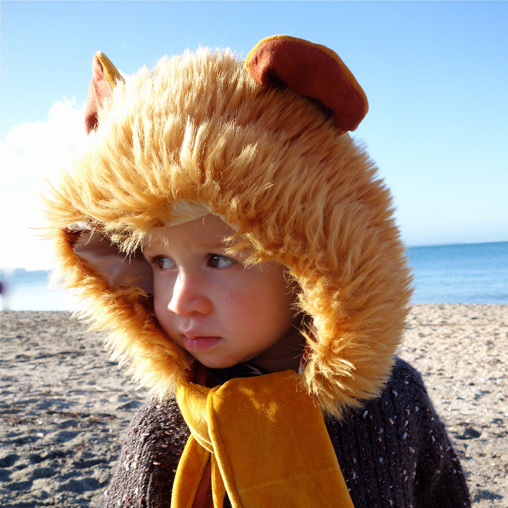 Boys Wild Things Hooded Scarf + Tails - Twig + Tale  - Digital PDF Download - 10