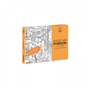 Pocket map MY BARCELONA
