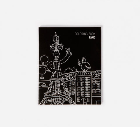 Colouring Book of Paris
