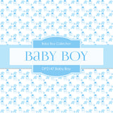 Baby Boy Digital Paper DP2147 - Digital Paper Shop - 4