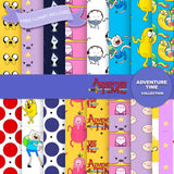 Adventure Time Digital Paper DP2582B - Digital Paper Shop - 1