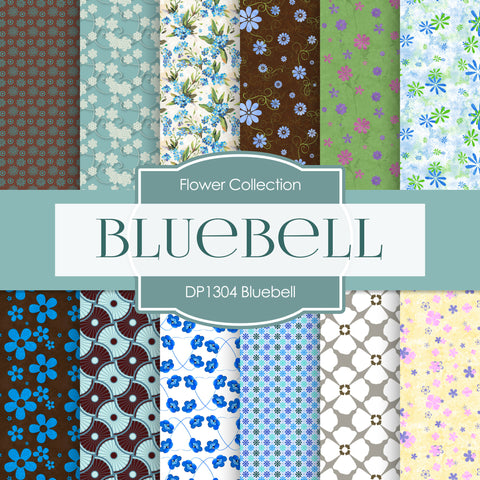 Bluebell Digital Paper DP1304 - Digital Paper Shop - 1