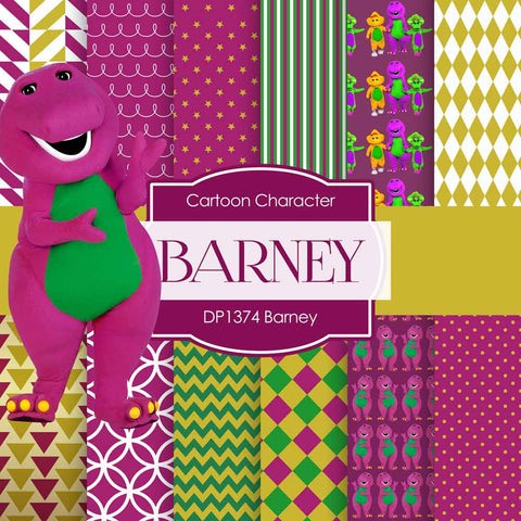 Barney Digital Paper DP1374 - Digital Paper Shop - 1
