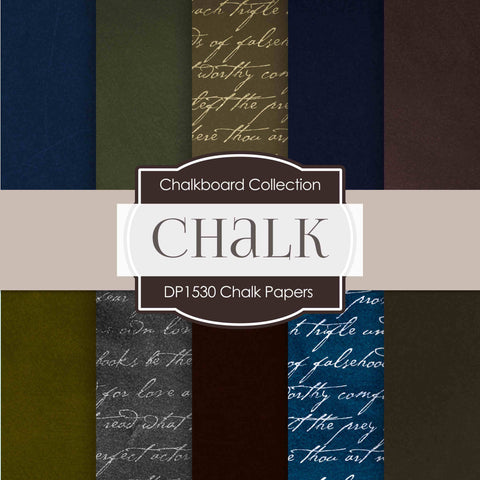 Chalk Papers Digital Paper DP1530 - Digital Paper Shop - 1