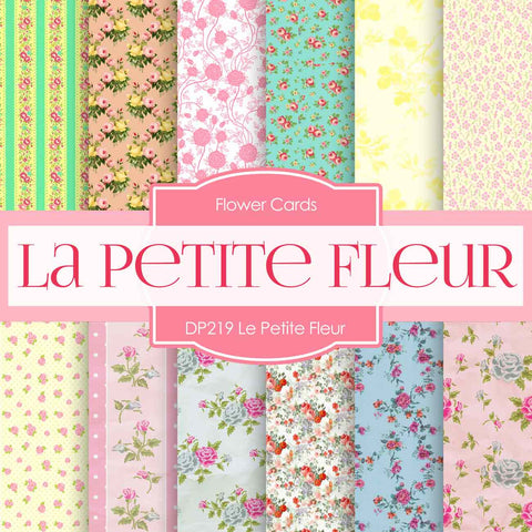 Le Petite Fleur Digital Paper DP219 - Digital Paper Shop - 1