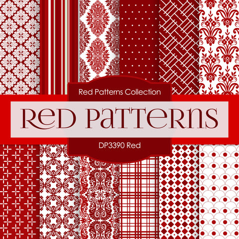 Red Digital Paper DP3390