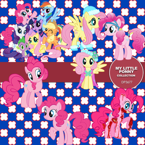 My Little Pony Digital Paper DP3676 - Digital Paper Shop - 1