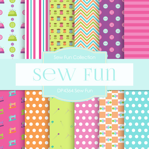 Sew Fun Digital Paper DP4364A