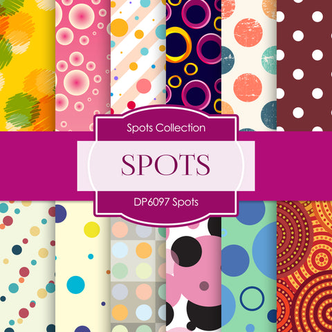 Spots Digital Paper DP6097A