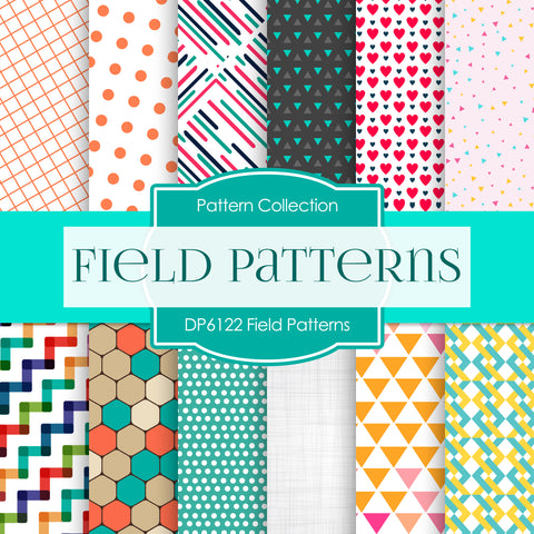 Field Patterns Digital Paper DP6122A