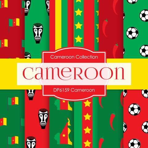 Cameroon Digital Paper DP6159