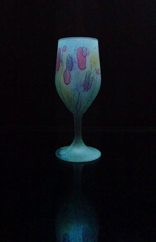 Tulip Glass - Lipstick Love Party Drinking Glass Tulips