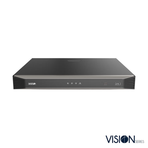 8 Channel IP NVR with 8 plug and play ports