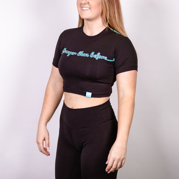 Stronger Bar Grip Women's Crop