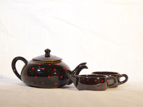 Dot Teapot Set