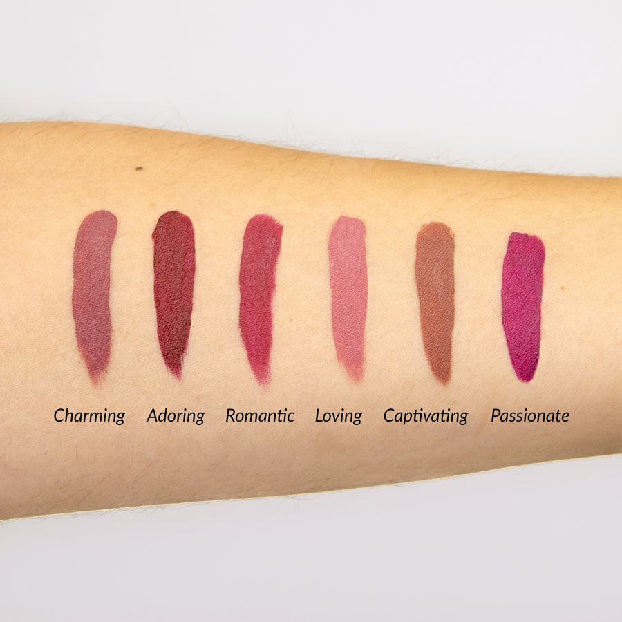 Meet Matte Hughes® Vol. 3 -- Set of 6 Mini Long-Lasting Liquid Lipsticks
