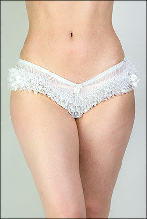 Flirty Mini Frilly Brief