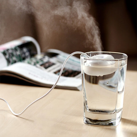 Desktop Mini Portable USB Air Donut Humidifier