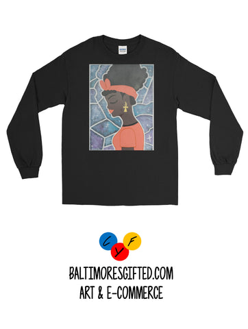 Black Girl Magic Long Sleeve Shirt