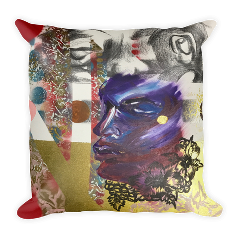 """Magnolia Survey 004"" Pillow"