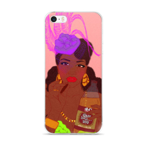 40's and Fascinators iPhone case