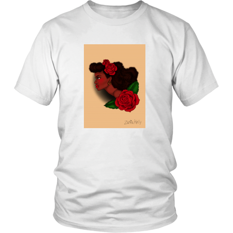 Afro Lady Head Tee