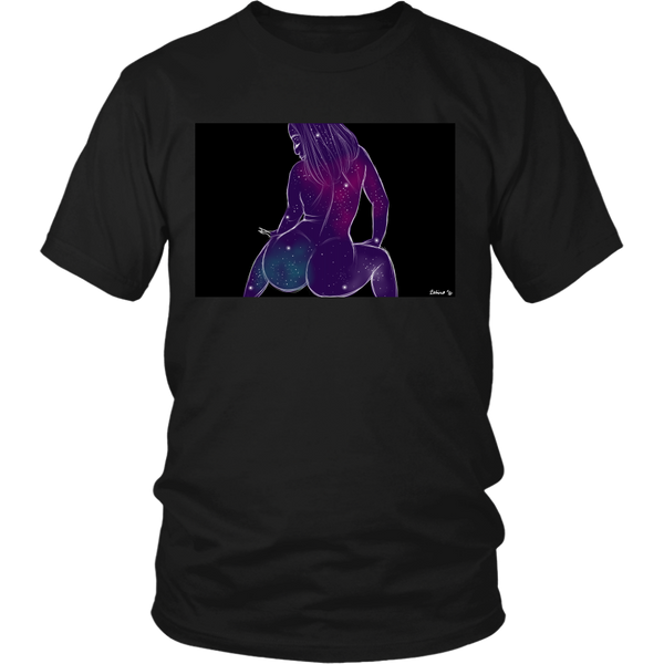 Galaxy Princess III Unisex Black Tee