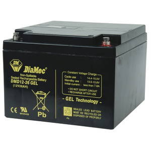 SLA Deep-Cycle Gel Battery - 12V 26Ah