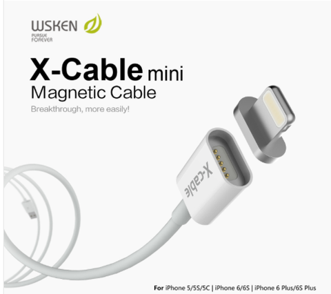 WSKEN Mini Lightning Magnetic Adapter (1 x Mini Lighting connector)