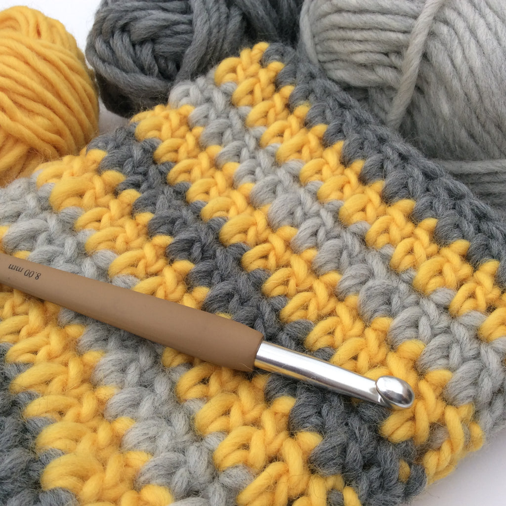 On My Hook - Felting with DROPS Eskimo